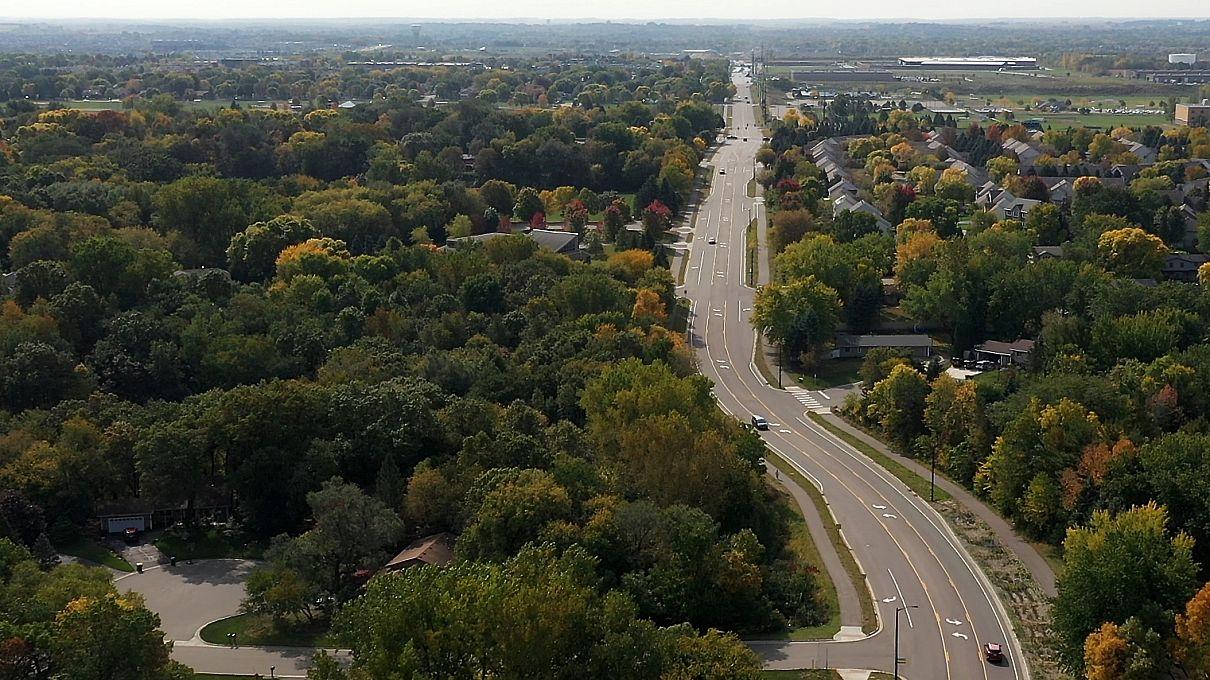 Johnny Cake Road aerial