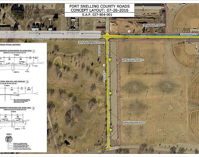 Fort Snelling Upper Post Layout 1